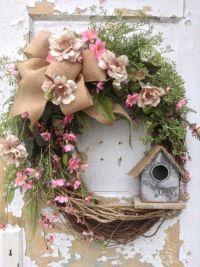 Spring Wreath, Easter Wreath, Summer Wreath, Front Door ...