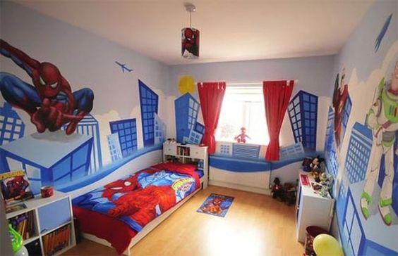 Marvel bedroom Superhero and Marvel on Pinterest