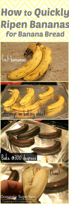 Use this tips on how to ripen your bananas quick and easy!