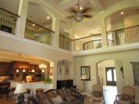 Second floor open, I love interior balconies and open ...