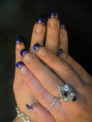 nail art 4th of july nails