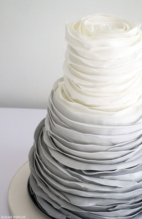 Grey Scale cake - More over at www.breakfastwithaudrey.com.au: