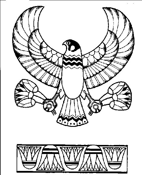 Egypt art, Coloring pages and Egypt on Pinterest