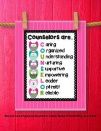 Counselor Are...Printable Quote Poster Great Gift for