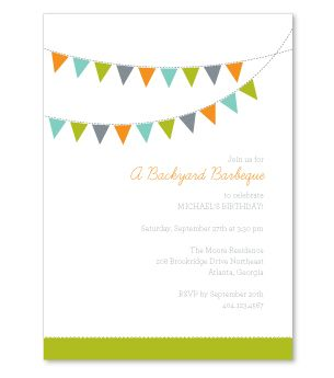 backyard barbeque invite