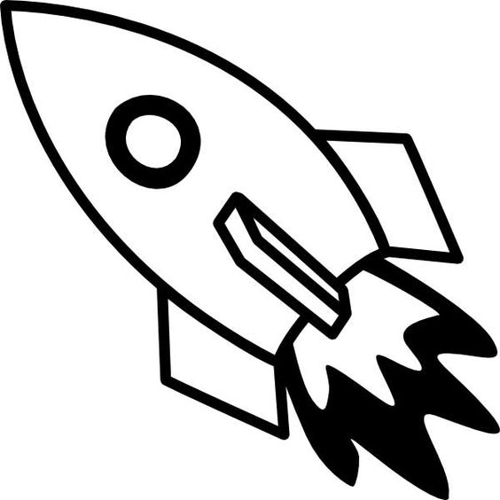 Space rocket, Free printable coloring pages and Coloring