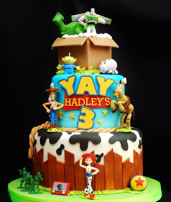 Toy Story Cake Oh How I Wish This Was A Good Link What