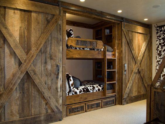 barn style doors decor home ideas pictures door closet kid