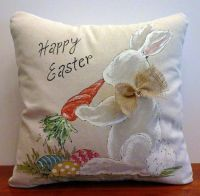 Easter bunny, Pillow covers and Carrots on Pinterest