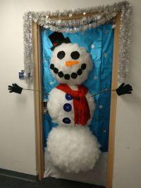 Office door decoration contest entry: Styrofoam cup ...