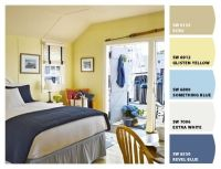 Yellow cottage, Interior paint colors and Cottage ...