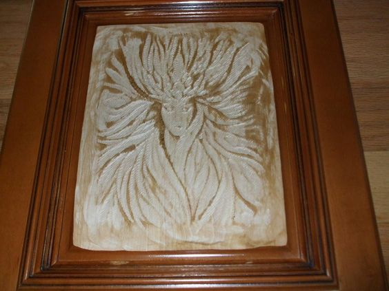cnc cut into an old #cabinet door | CNC Projects | Pinterest | Old ...