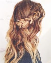 Braids, Side braids and Braided half up on Pinterest