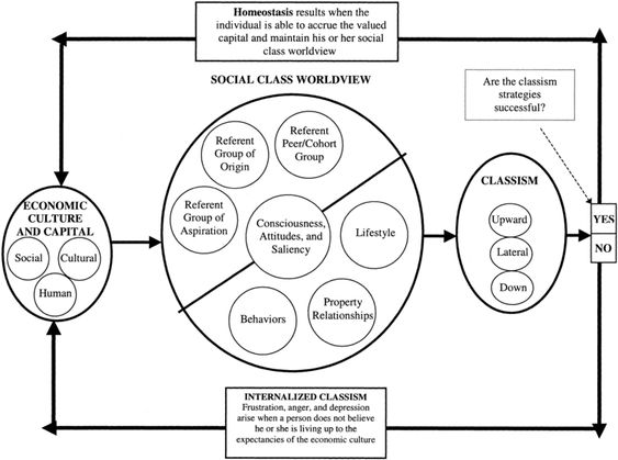 multicultural counseling a model of internalized classism