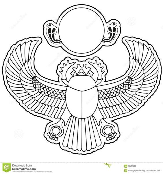 Egyptian Scarab Beetle Tattoo