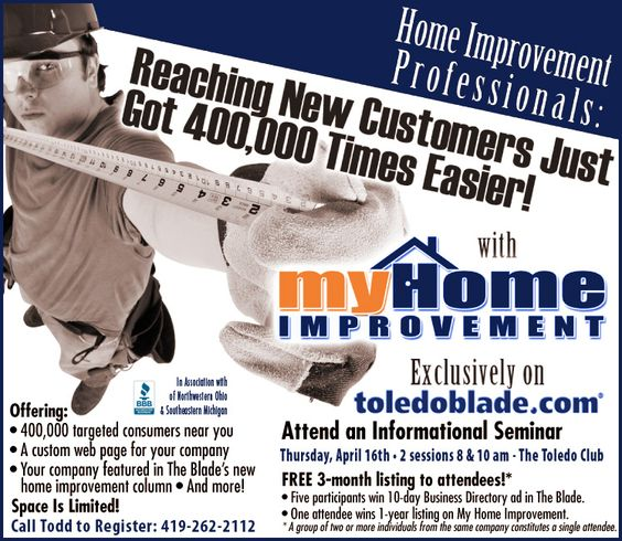 Home Improvement Ads Info On Affording Home Repairs