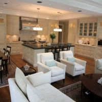 Kitchen dining rooms, Great rooms and Room kitchen on ...