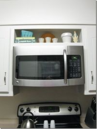 hang an over-the-range microwave without an overhead ...