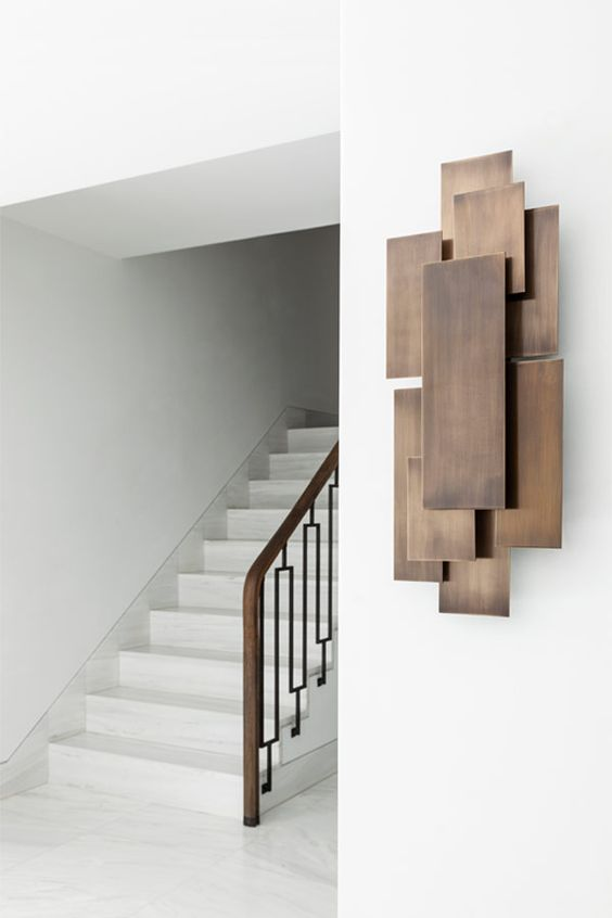 I love this abstract wall hanging Contemporary furniture