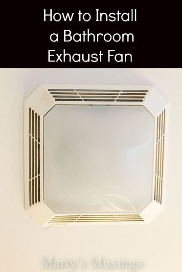 Fan Wiring Diagram Bathroom Exhaust Fan Replacement Also Bathroom Fan