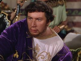 Image result for peter ustinov and leo genn quo vadis? 1951 movie