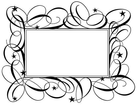 Flourish Pattern Frame Border Ppt Backgrounds Flourish Pattern Frame