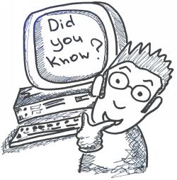 Did You Know? 10 Fun Technology Facts #trivia, #technology