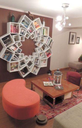 Mandala Bookshelf: