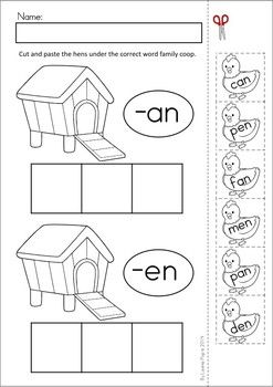 Activities, Word families and The unit on Pinterest