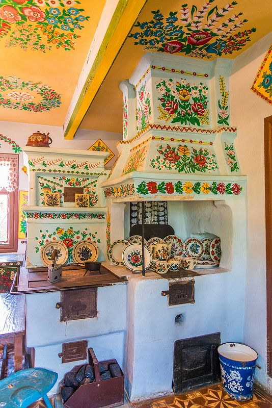Zalipie In Poland Is Known As The Painted Village Its