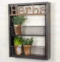 "Kitchen Garden ""Herbs"" Wall Shelf TN550037 