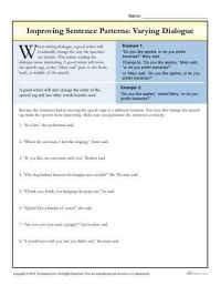 Sentences, Worksheets and Dialogue writing on Pinterest