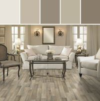 Mushroomy neutrals: Resilient Carriage House Flooring ...