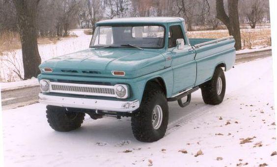 1960 Chevy 4x4 Pickup Truck