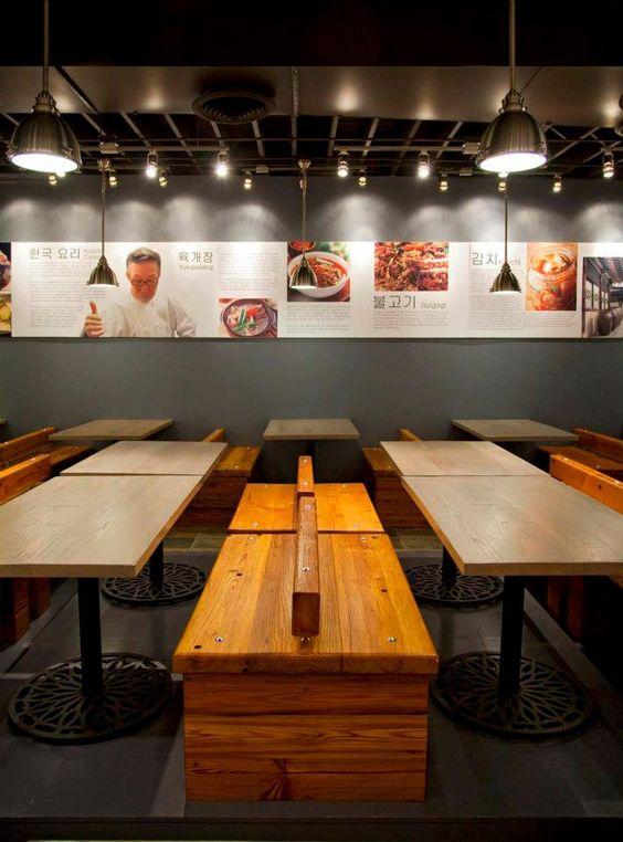 Korean Bbq Restaurant Design