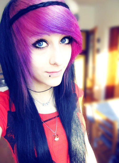 Easy Emo Hairstyles For Girls Emo Hairstyles Ideas GlobezHair