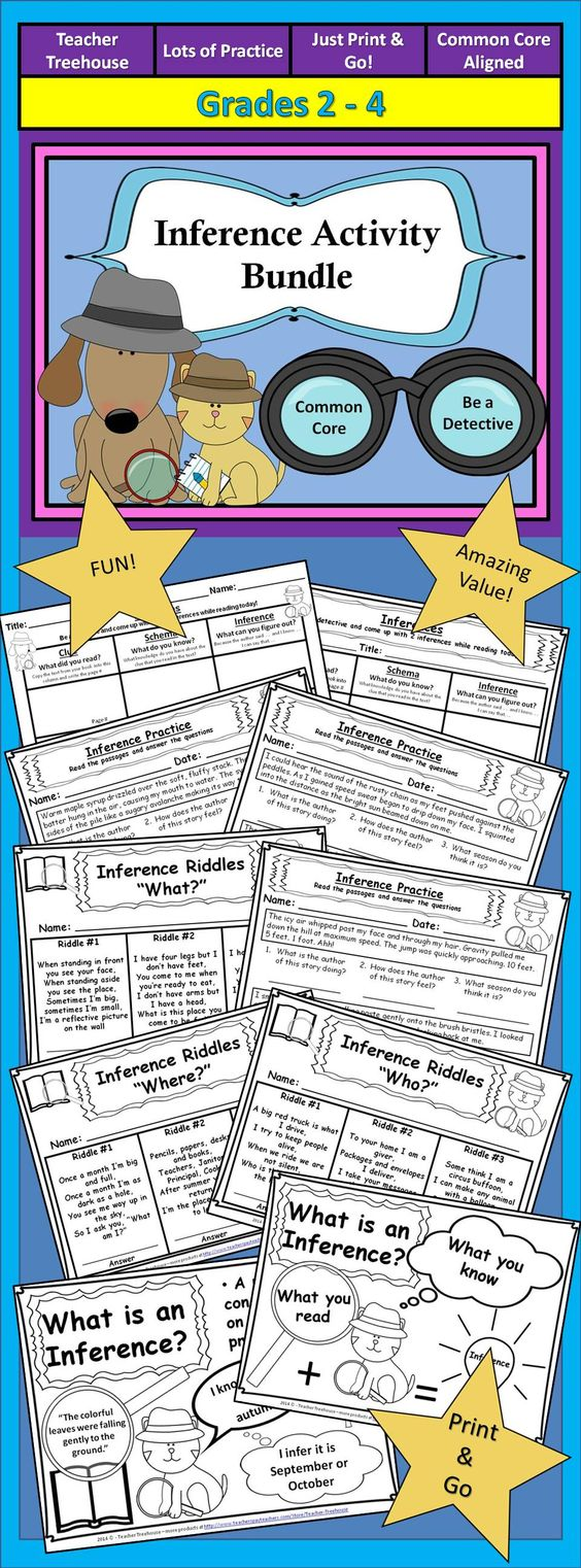 hight resolution of 33 Inferences Worksheet 2 Answers - Worksheet Project List