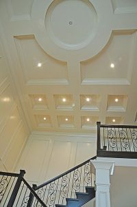 Circles, Coffered ceilings and Photos on Pinterest