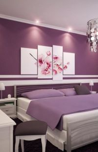 Purple furniture, Small bedroom decorating and Purple sofa ...