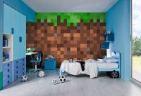 Minecraft, Wall murals and Etsy on Pinterest