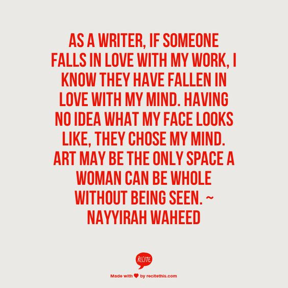 Image result for falling in love with writing