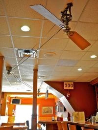 The Brewmaster Belt-Drive Ceiling Fan by Fanimation ...