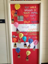 Oh the places you'll go door decoration | Dr Seuss ...