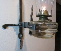Wall brackets, Iron wall and Oil lamps on Pinterest
