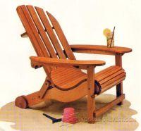 Adirondack chair plans, Chairs and Folding adirondack ...