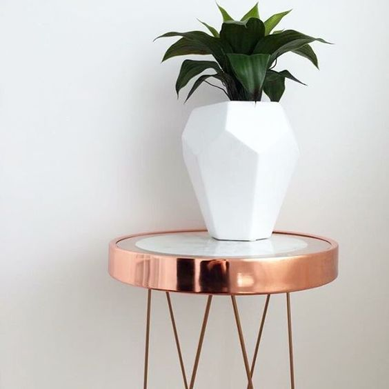 Rose gold Decor: