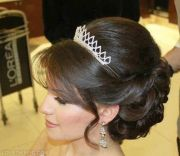 princess hair wedding