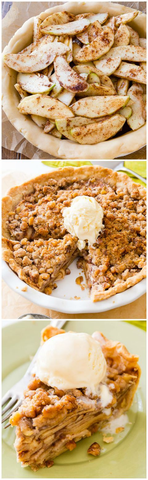 apple crumble pie recipe delicious recipes and