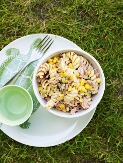 Tuna pasta can be healthy 10 minute dinners!