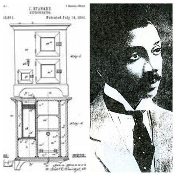 African American Inventor John Standard patented an